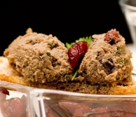 Chicken Liver, Tequila & Cranberry Pate